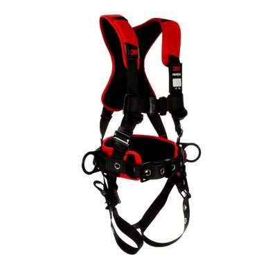 Protecta Black Comfort Construction Style Positioning Harness (Size:M/L) by 3M VASP Fall Protection (Image #3)
