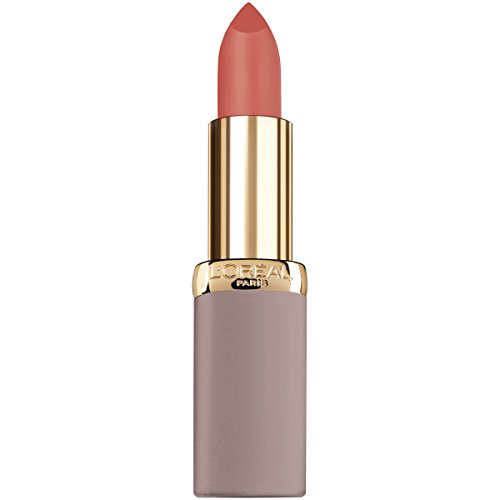 L'Oreal Paris Cosmetics Colour Riche Ultra Matte Highly Pigmented Nude Lipstick, Risque Roses, 0.13 Ounce ()
