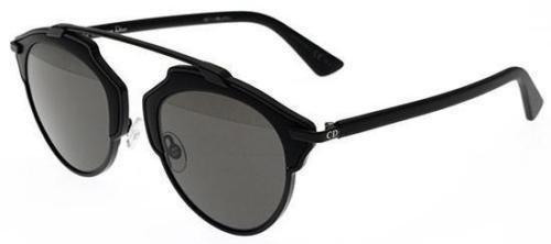 New Christian Dior SO REAL RLS/LY matte black/matte black dark gray - So Real Sunglasses Dior