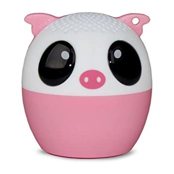 Universal Mini Cute Pig Animal Bluetooth Wireless Speaker Audio Driver Remote