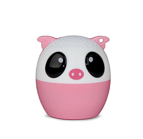 My Audio Pet (Gen 1 Mini Bluetooth Animal Wireless Speaker with Powerful Rich Room-Filling Sound - 3W Audio Driver - Remote Selfie Function - for iPhone/iPad/iPod/Samsung/HTC/Tablets - Party Pig
