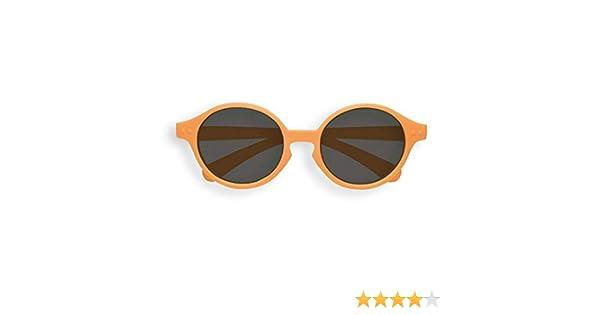IZIPIZI Sun Kids Orange Firework Round Sunglasses +0 Naranja