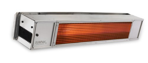 SunPak S25S Stainless Steel Patio Heater -