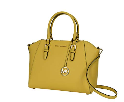 Michael Kors Yellow Handbag - 4
