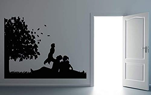 Family Picnic Wall Decal Nursery Decor Vinyl Sticker Wall Decor Removable Waterproof Decal - Bedding Pique Nursery