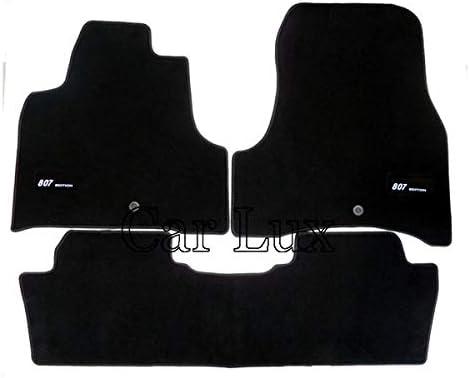 Car Lux ar02665/Tapis de Voiture sur Mesure pour Le 807//à partir de Velours