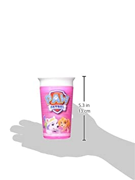 Pink 9 Oz Munchkin Paw Patrol Miracle 360 Degree Sippy Cup