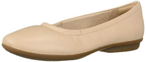 - CLARKS Women's Gracelin Vail Ballet Flat Blush Leather 060 M US