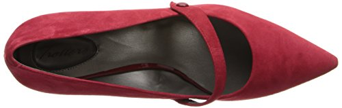 Dravers Vrouwen Petra Wig Pomp Rood Suede