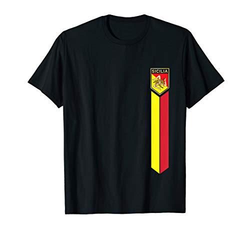 Sicilian Pride - Sicilian Flag Jersey Style -