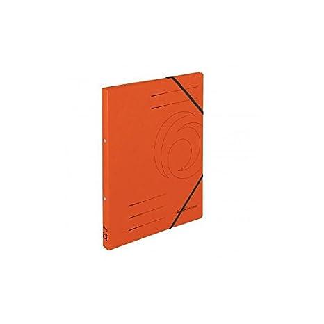 Herlitz - Juego de 3 archivadores de cartón easyorga, A4, colorspan-carton naranja: Amazon.es: Oficina y papelería