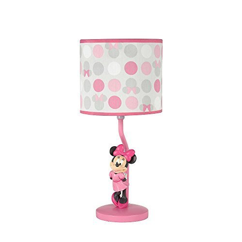 Disney Baby Minnie Mouse Polkadots Lamp & Shade
