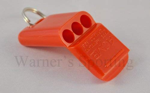 Acme Tornado 635 Pealess Whistle (Orange)