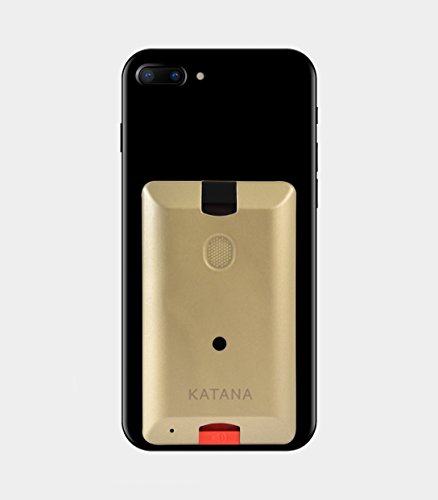 Katana Safety Arc: The First Personal Security System That attaches Directly to Your Smartphone. Includes 1 Free Month of The 24/7 Katana Response Center Service. (Bronze) by Katana