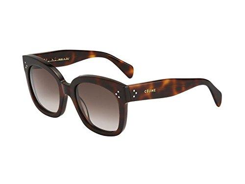 Celine 41805/S 05LHA Tortoise New Audrey Cats Eyes Sunglasses Lens Category 3 ()