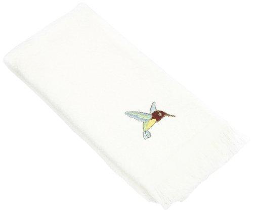 Avanti Linens Colibri Fingertip Towel, White ()