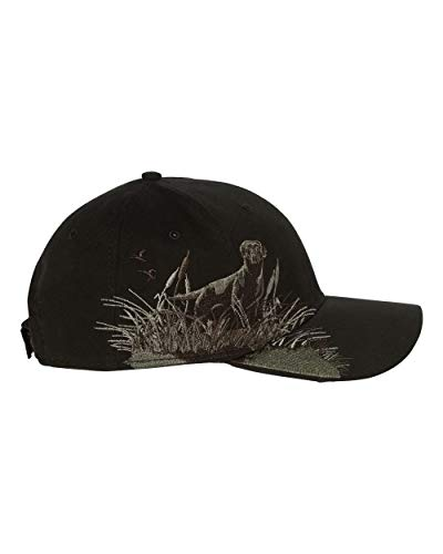 Dri Duck Wildlife Labrador Cap, Black ()