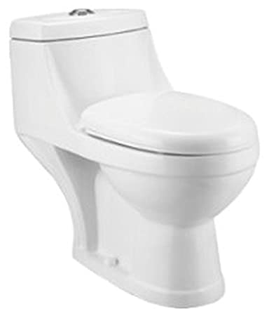 Awesome Cera Codi 2069 Floor Mount White One Piece Amazon In Pabps2019 Chair Design Images Pabps2019Com