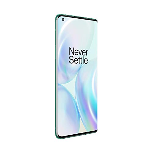 OnePlus 8 Pro (5G) Dual-SIM IN2023 256GB/12GB RAM (GSM + CDMA) Factory Unlocked Android Smartphone (Glacial Green)- International Version