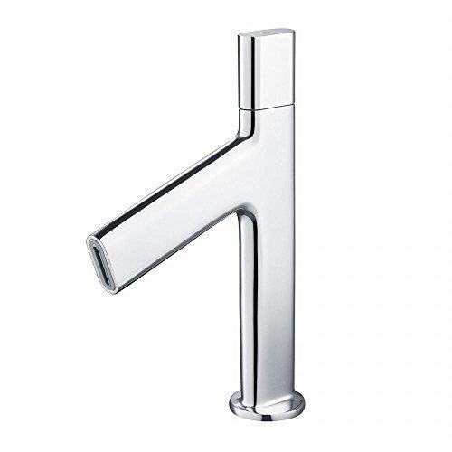 Electronic Single Hole Faucet - Kraus KEF-15701CH Ino Single Hole 1-Handle Low-Arc Bathroom Fauce