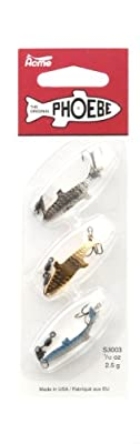 Acme Phoebe Lure Pack Of 3 12-ounce by Acme