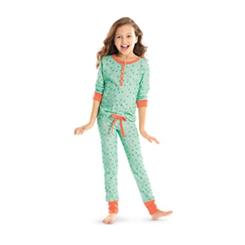 American Girl Kit's Puppy Print Pajamas for Girls Size X-Small (6)