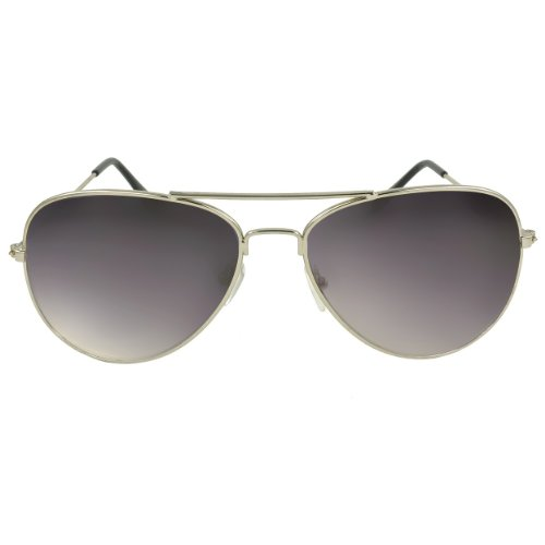 SWG EYEWEAR Silver Aviator Sunglasses Sport Capsule Gradient - Sunglass Tomford