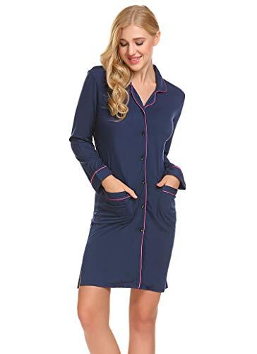 navy Skione notte da blu Camicia Donna PPFSw