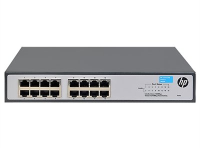 HP 1420-16G Switch - 16 Ports - 10/100/1000Base-T - 16 x Network - Twisted Pair - Gigabit Ethernet