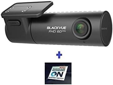 HDVD BlackVue DR590-1CH 32GB, Car Black Box Car DVR Recorder, Full HD 1080P, 60FPS, G Sensor, 32GB SD Card Warning Sign Included
