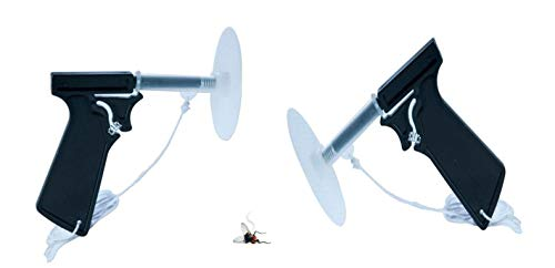 Fly Swatter Guns (PAIR) Spring Loaded FLY GUNS