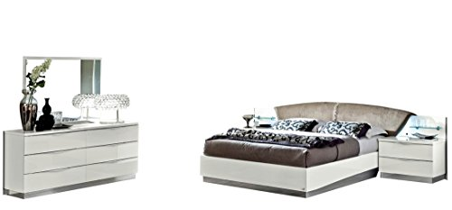Onda Mirror (ESF Onda Bedroom Set with King Bed, Nightstand, Dresser and Mirror)