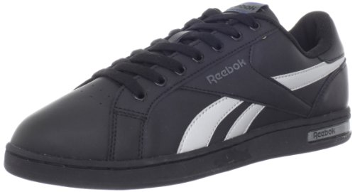 Reebok Mens Royal Badge Sneaker Black/Silver/Grey ocO7RzE6