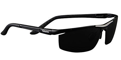 con Hombre Sol UV400 para Mujer 1 Gafas Pesca y Gafas de de Polarizadas Deportivas negro Protección Sol Conducir qOvqIwA5