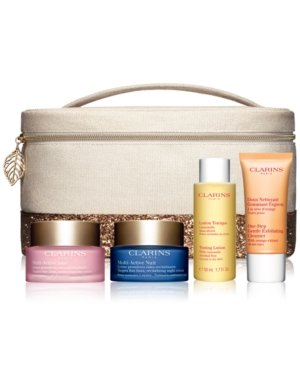 Collection Clarins (Clarins Multi-Active Day and Night Collection for All Skin Types)