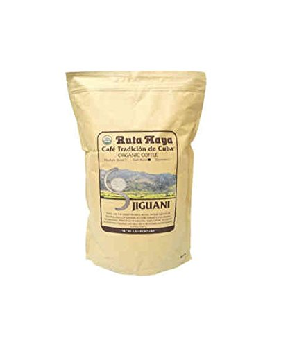 Ruta Maya USDA Organic Jiguaní Dark Roast Whole Bean Coffee 5 lb. Bag
