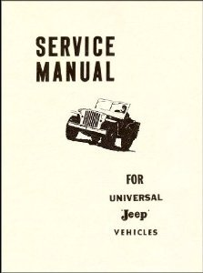 Service Manual for Universal Jeep Vehicles (Jeep Universal, used for sale  Delivered anywhere in USA