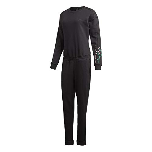 Adidas Ls Jumpsuit Chándal Negro Mujer nwY4paqw