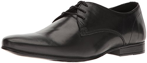 Kenneth Cole REACTION Men's Shop-Ping List Oxford, Black, 10.5 M US