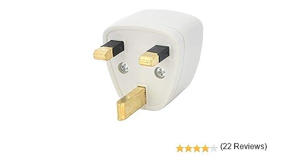Adaptador de Enchufe para Reino Unido Inglaterra a Universal (Tipo G): Amazon.es: Electrónica