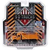 2018 International WorkStar Construction Dump Truck Orange S.D. Trucks Series 5 1/64 Diecast Model by Greenlight 45050 A