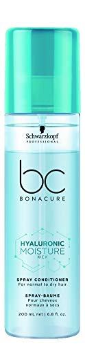 BC BONACURE Hyaluronic Moisture Kick Spray Conditioner, 6.76-Ounce