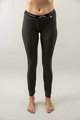 Corbeaux Clothing Women's Amie Ankle Pants, Large, Black