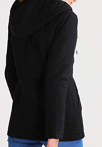 pour Parka amp;ODD Femmes Saison en ou Marine Demi uni Noir Even l Veste Rouge Bleu Automne xOqwIaa