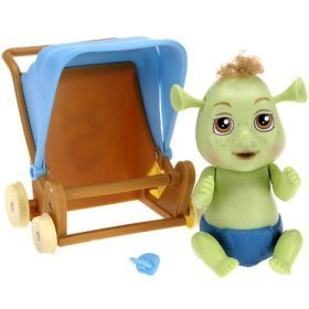 Amazon Com Shrek Out Of Control Triplets Baby Boy With Stroller