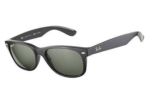 9310c2498a8 Ray Ban RB2132 901 58 55 Black Polarized New Wayfarer Sunglasses Bundle-2  Items - Buy Online in Oman.