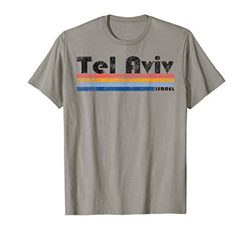 - Vintage 1980s Style Tel Aviv Israel T-Shirt