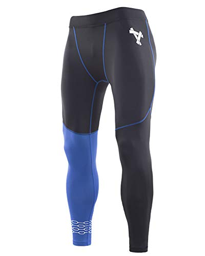 Termici Blu Sport Da Uomini Layer Base Compressione Jogging Degli Leggings Nero Zaffiro Ghette Liangzhu Calzamaglia Pantaloni 8qxa1g1O