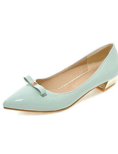 PDX/Damen Schuhe Low Heel Spitz Zulaufender Zehenbereich/geschlossen Zehen Wohnungen Office & Karriere/Kleid/Casual Blau/Rot/Grau gray-us6.5-7 / eu37 / uk4.5-5 / cn37