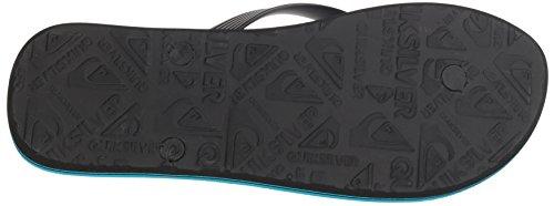 Quiksilver Men's Molokai Sandal, Black/Blue/Blue, 13 M US by Quiksilver (Image #3)